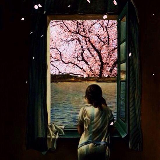 Japan Sakura Cherryblossoms Art Salvadordali 🎶Carlos Franzetti & Eddie Gomez - Ana Maria