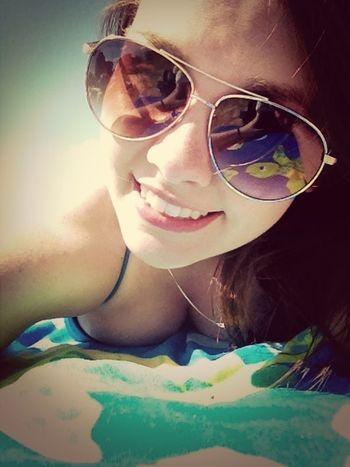Enjoying The Sun Getting A Tan #JustMe Tanning