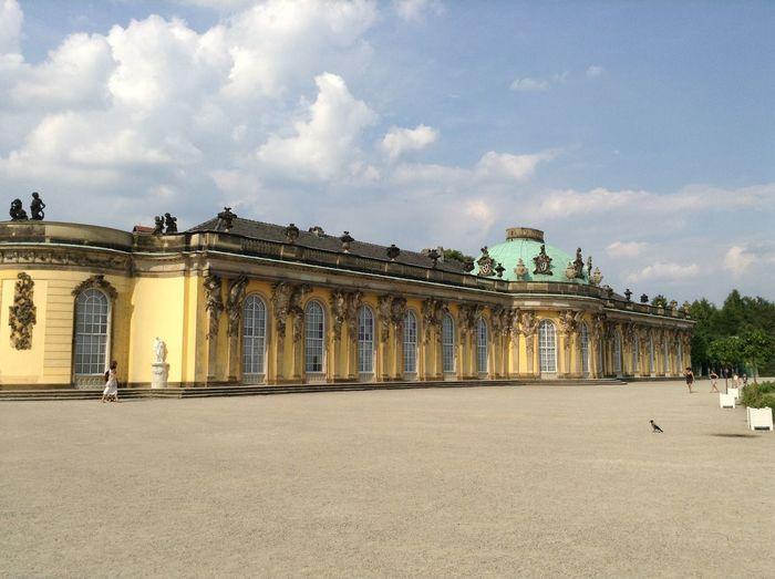 Potsdam Potsdam Park Sanssouci Beautiful View Beautiful Beautiful Day