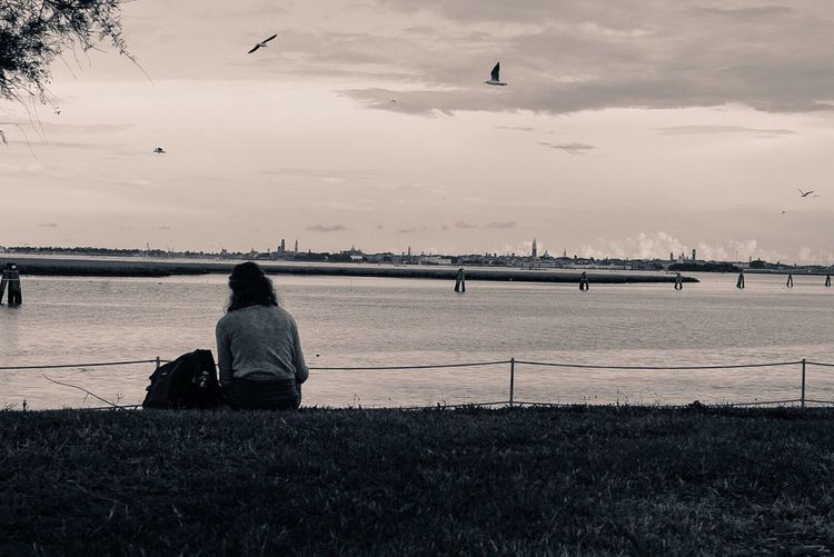 Sitting Sunset