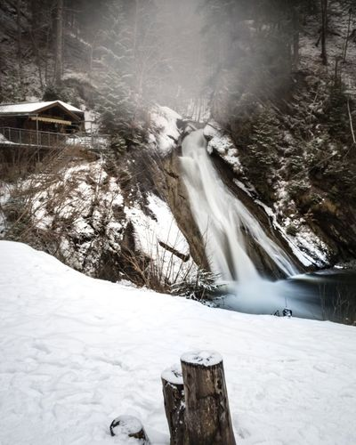 Starzlachklamm Bayern Bavaria Germany Deutschland Winterwonderland Snow Forest Waterfall Longexposure Long Exposure Cold Cold Temperature Cold Weather Cold Days White No People Forest Trees Forest Photography Winter2018 Nature Trees Winter Wonderland