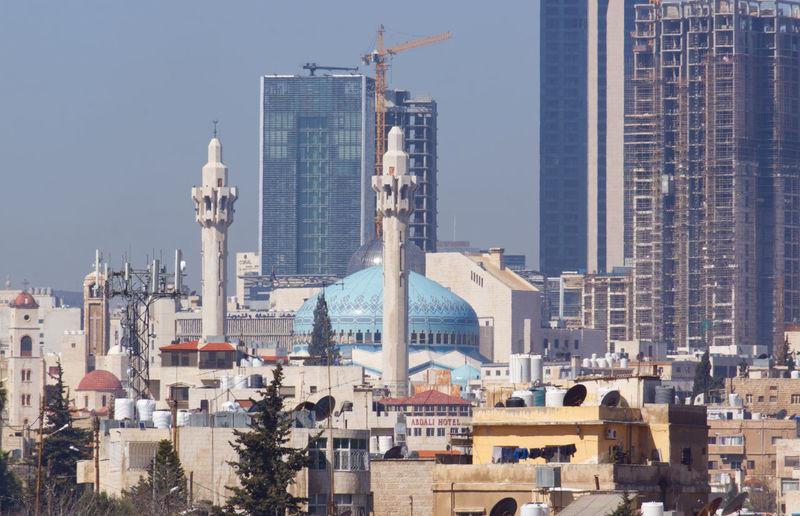 View of buildings in amman