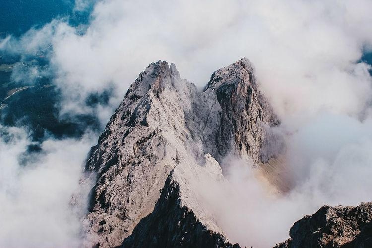 Germany's highest mountain zugspitze