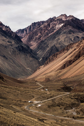 #argentina Geology Landscape Mendoza #argentina Mountain Mountain Range Physical Geography Road Rutasargentinas