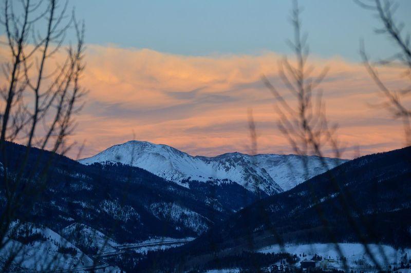 KeystoneSkiResort Winter Snow Mountain Landscape Outdoors Sunset