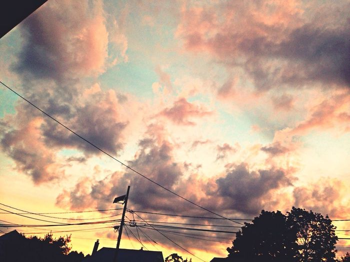 The fury of the sunset... Cloudsandsky Sunset Grayclouds