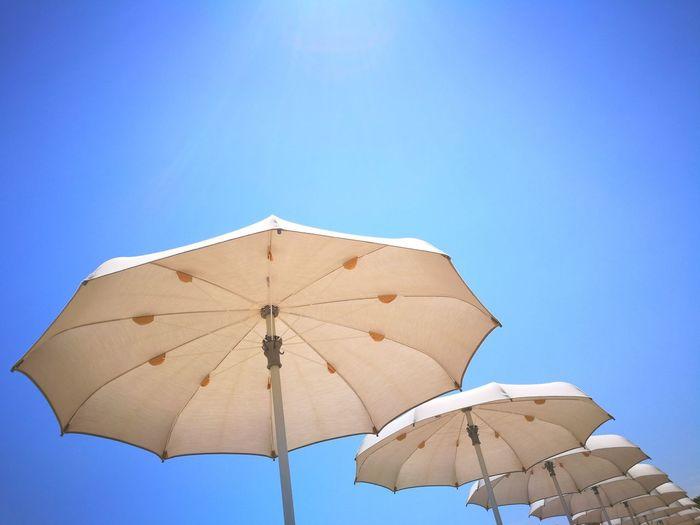 Summer Blue Clear Sky Outdoors Nature No People Sky Adriatico Spiaggia Mare Beach Beauty In Nature Punti Di Vista
