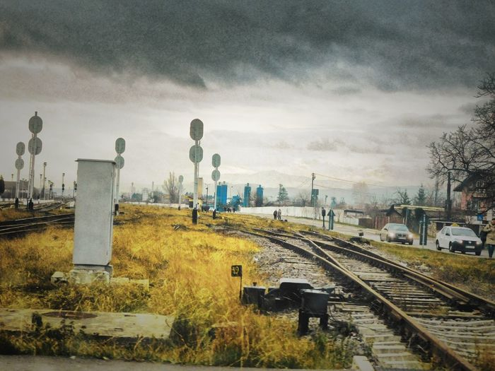 Sky Cloud - Sky No People Outdoors Train Rail Train Railway Railway Road The Street Photographer - 2017 EyeEm Awards