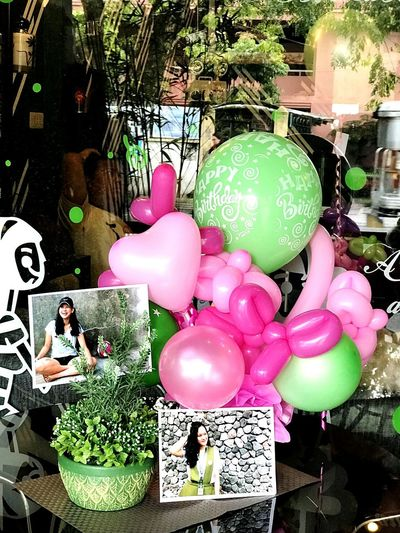 Surprises will never fail you to smile Birthdaygirl Balloons Surprise!