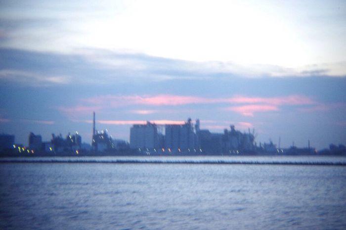 おつかれさま。 Pentax K-3 Holgalens Twilight Afterglow Sunset