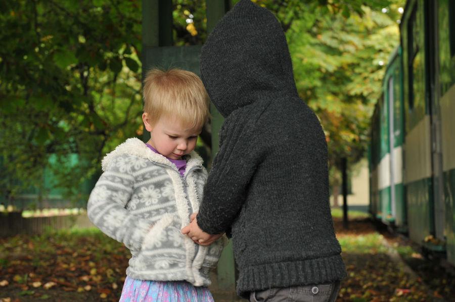 Chestnut business Autumn Child Childhood Children Children Photography Kids Nature Nikon Nikon D300s Nikonphotography Outdoors People Two People Snap A Stranger