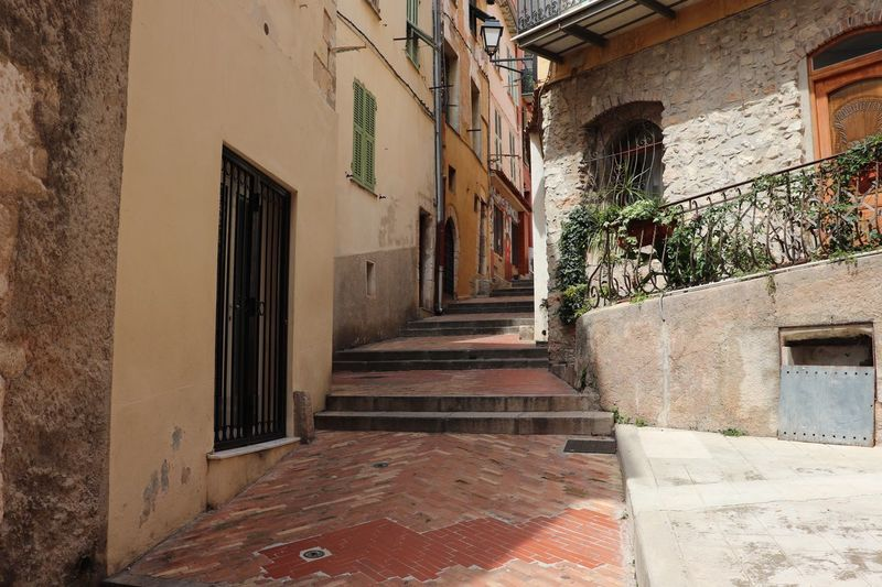 Steep narrow