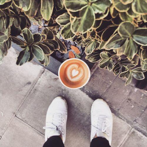 Friday Ground Day 2015 | FLAT WHITE & WHITE NIKES | CoffeeEqualsLove Dailyfix GroundDay Shoeselfie ShoePorn Igers London @holborngrind