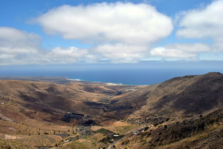 Sometimes horizon is just a blurry line. Cloud - Sky Landscape Aerial View Sky Outdoors Scenics Nature Beauty In Nature No People Day Drone  Mountain Hills Horizon Horizon Over Water Atlantic Ocean Island Canary Islands Lanzarote Earth Flying High The Great Outdoors - 2017 EyeEm Awards