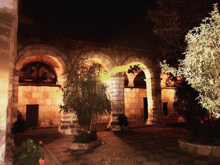 Convento Santa Catalina Arequipa - Peru Architecture Night
