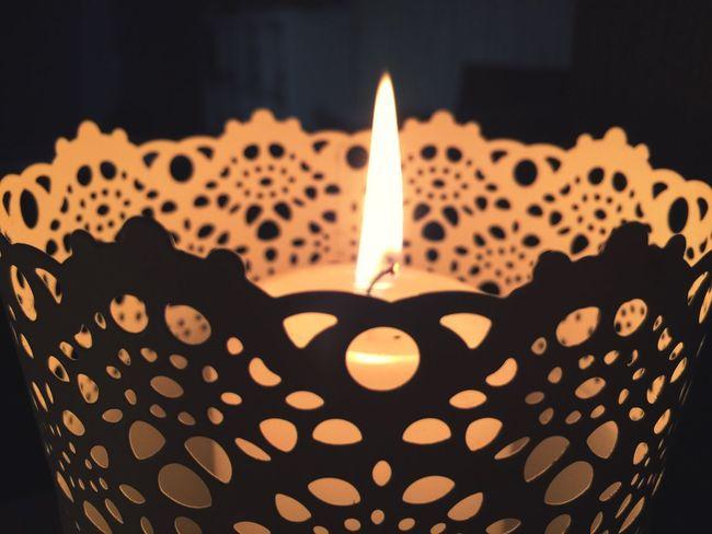 EyeEmNewHere Flame Burning Candle Heat - Temperature Celebration Indoors  Heart Shape Close-up Cake Night No People Focus On Foreground