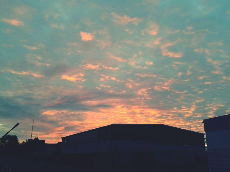 Woche schon wieder vorbei ... Cloud Porn Clouds And Sky Wolken Abendhimmel