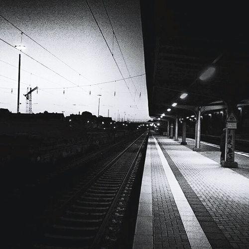 No train, no people, no colour, no fear. First Eyeem Photo