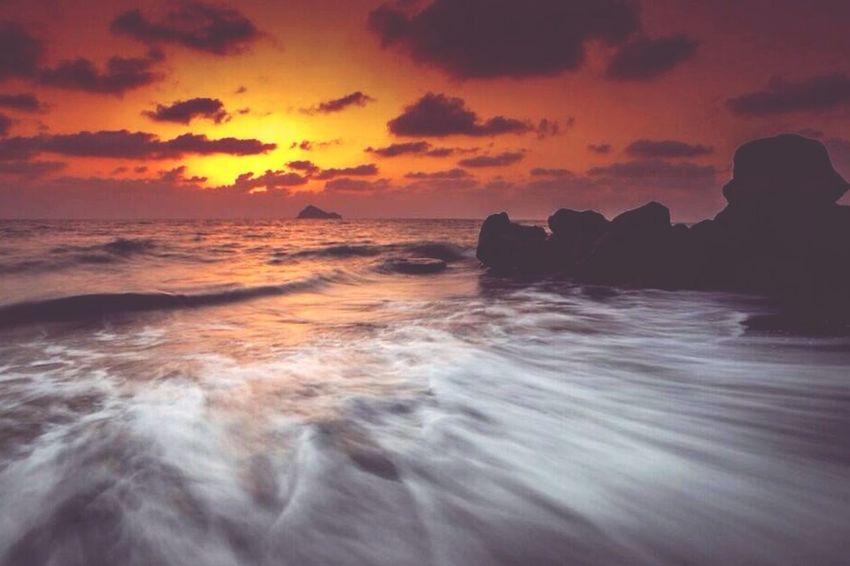 Sunset Aljnob Saudi تصويري  الجنوب السعودية  الغروب