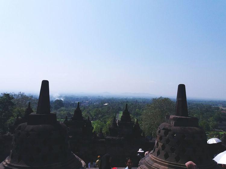 Architecture Landscape Beauty In Nature Travel Destinations Borobudur Temple, Indonesia Borobudur Temple Indonesia Scenery Nature Outdoors EyeEmNewHere