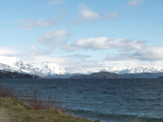 Bariloche, Argentina Beauty In Nature Lake Mountain Nature No People Non-urban Scene Outdoors Scenics Snow Tranquil Scene Tranquility Winter