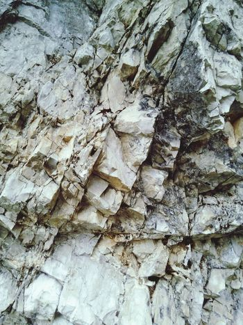 Full Frame Textured  Nature Stone Details Whitestone Dolomite