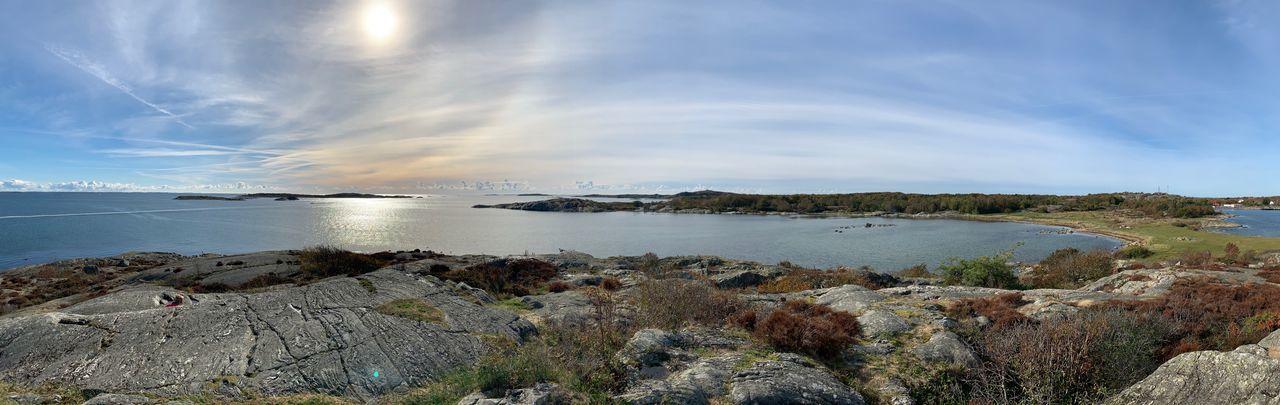 Panorama Water Sea Sky Scenics - Nature Beauty In Nature Beach Cloud - Sky Nature No People Horizon Over Water Day EyeEmNewHere