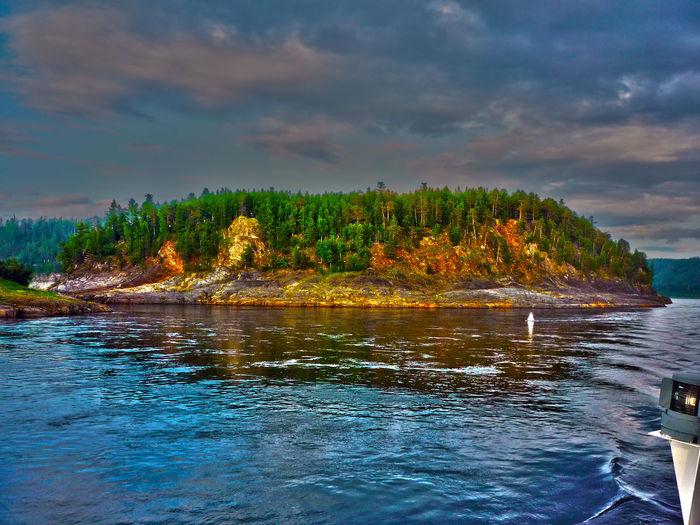 Osynovskaya System Yenisey River Island Енисей остров