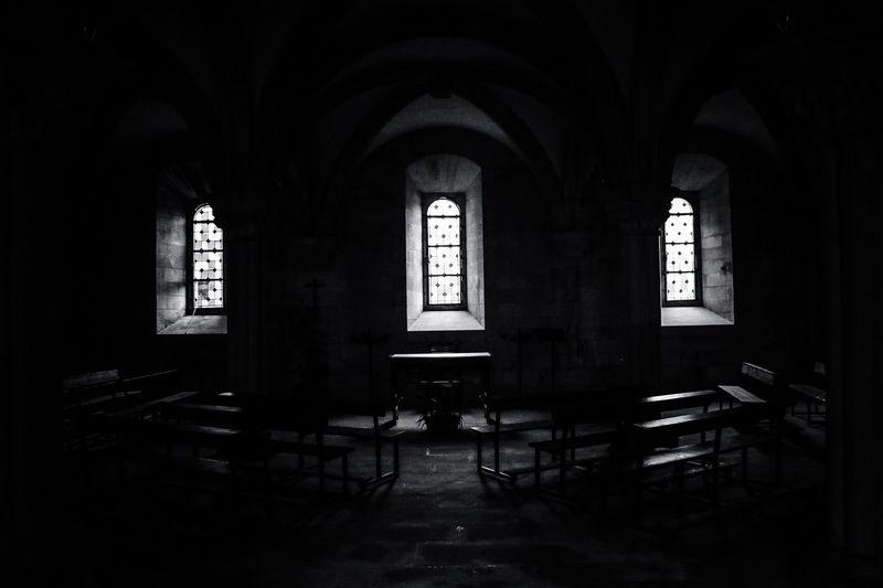 Monastery life. Camino De Santiago The Photojournalist - 2016 EyeEm Awards The Architect - 2016 EyeEm Awards Black & White SPAIN