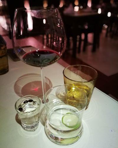 Let get some drink!! Alcohol Drink Drinking Glass Indoors  Refreshment Wineglass Shot Glass Sambuca Sparking Water Plain Water Eyeemdrinker EyeEmNewHere