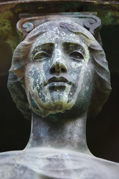 I just love this patina !! Fine Art Photography Cemetery Graveyard Fine Art Stone Statue Greek Woman Face Colour Of Life Color Palette Patina Eyeemphoto Close-up Patina_perfection New Talent Dramatic Angles
