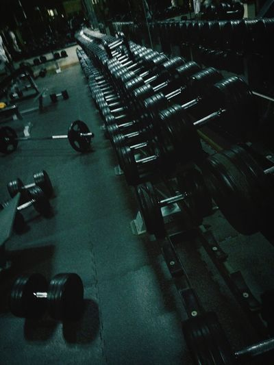 Gym Time Fitness Excercising Lifestyle