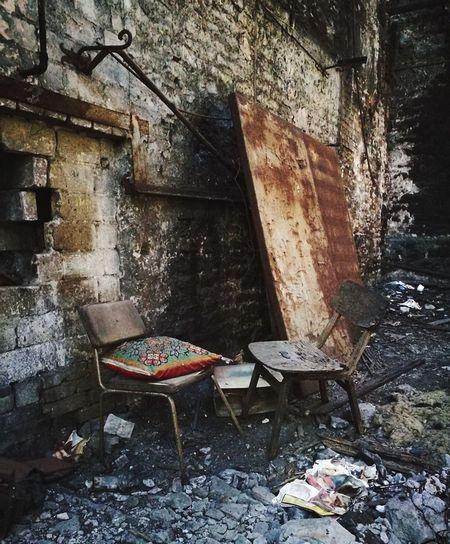 Urban Exploration Abandoned Empty Place Silence Standstill Chair Lost Things Forgotten Memories Tallinn Estonia EyeEmNewHere
