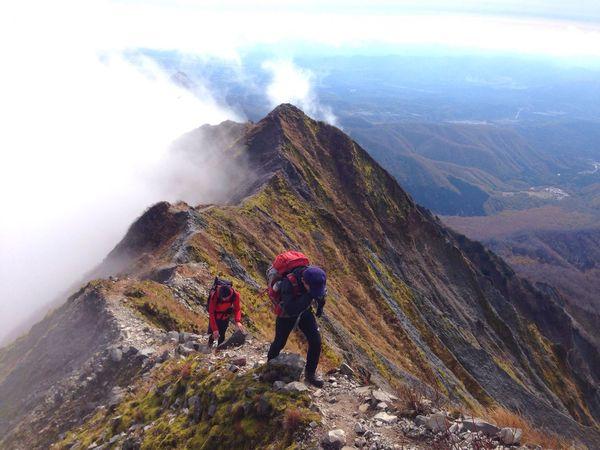 Mountains Trekking Mt.Daisen