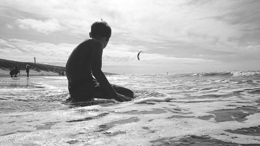 Water Sea Men