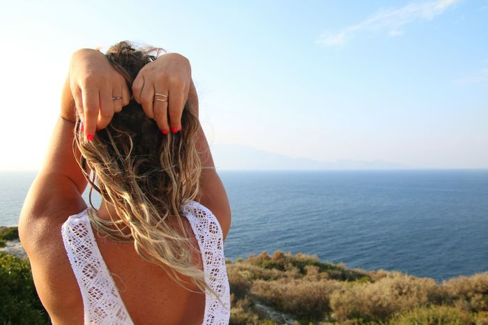 Summer Sea Women Happiness Model Pose Modeling Shoot Model Life Photographer Photo Of The Day Photograph Moods Sky