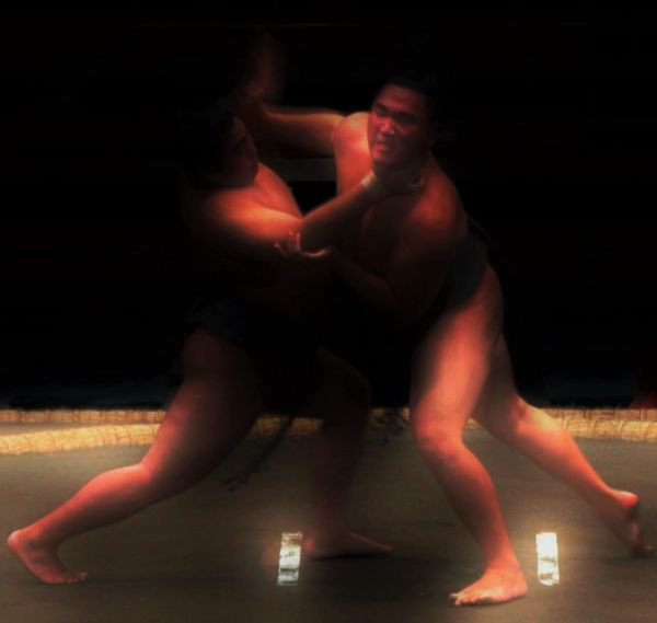 Blurred Blurred Motion Fighting Francis Bacon Japan Sumo Tokyo Pushing Combat Grappling Shoving Wrestling Sumo Fight Sumowrestler Basho Big Man BIG MEN Men Dynamic Wrestler Wrestling Tournament Wrestling Match Oriental Push Stuckinthemiddle