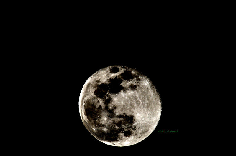 Moon Sky Space