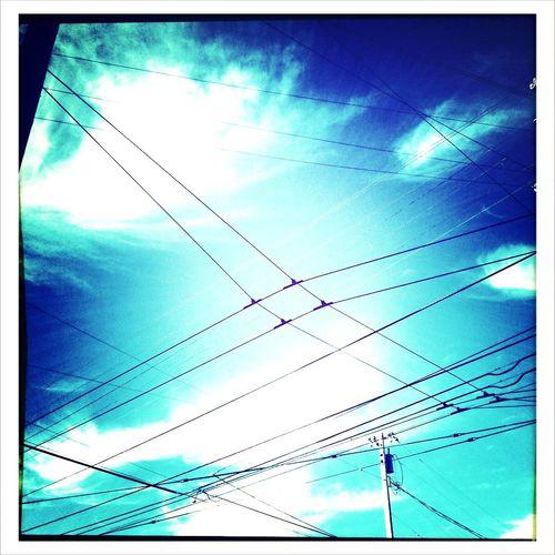 Sky Power Lines