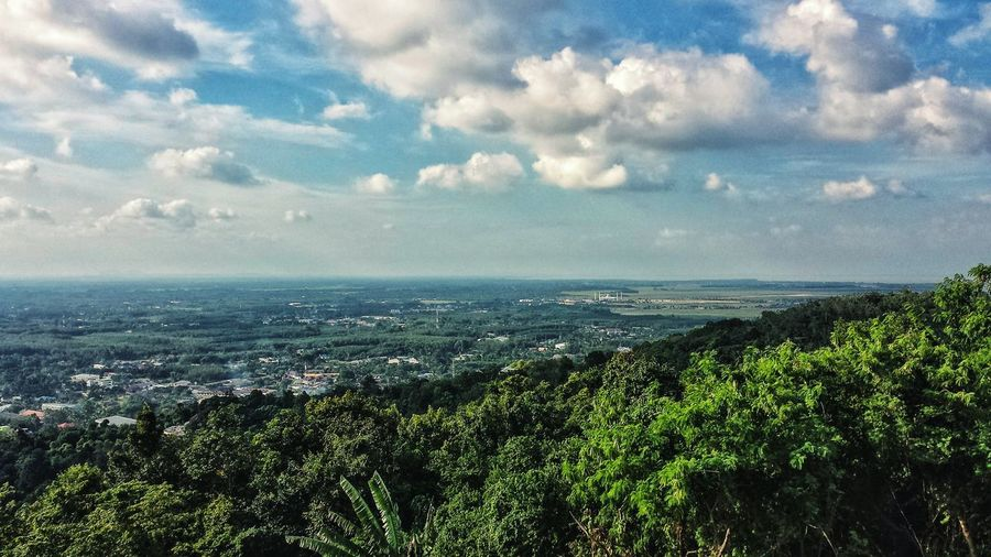 Showcase: January Afternoon Cityscape ASIA Southeast Asia Outdoors Clouds Southern Thailand Mountain Blue Sky Landscape Songkhla Lake Hat Yai Songkhla Province Spotted In Thailand