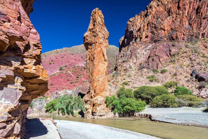 Large rock formation near Tupiza, Bolivia Arid Arid Climate Beauty In Nature Bolivia Cactus Canyon Cliff Countryside Desert Formation Formations Geology Landscape Physical Geography Red Rock Rock Formation Rocks Rugged Rural South America Tourism Travel Travel Destinations TUPIZA