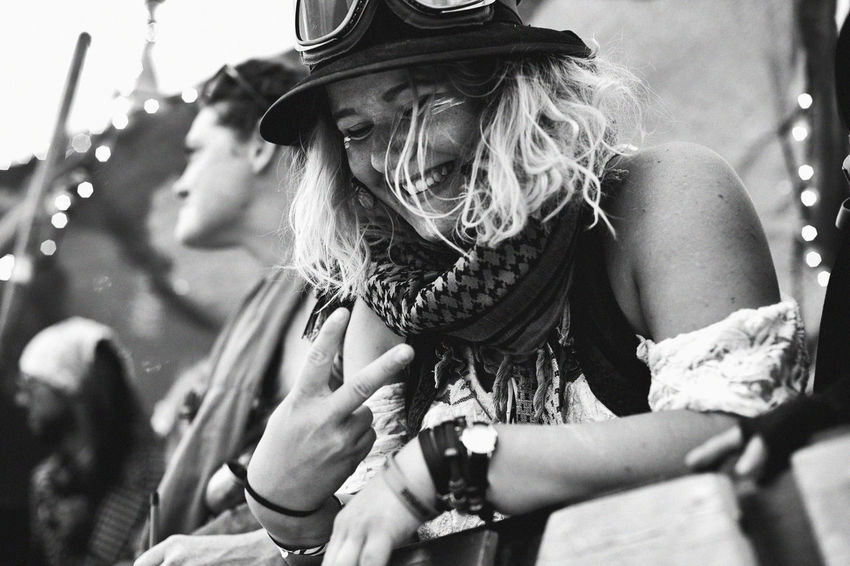 Adventure Blackandwhite Blond Blonde Girl Bohemian Burningman Explorer Festival Focus On Foreground Genuine Girl Growth Happy Hat Honest Laughter Lifestyles Magical Moment Peace Person Relaxed Smile Weird Young Adult