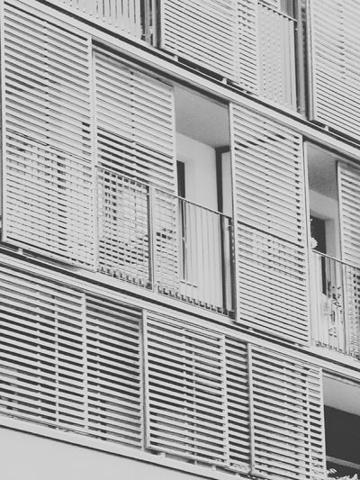 Architecture Architecture Building Exterior Low Angle View Pattern Modern Architecture Façade Lines Black & White Black And White Blackandwhite Photography Structure Structures & Lines Outdoors No People Perspective Modern City Love Architecture Lamellen EyeEmNewHere