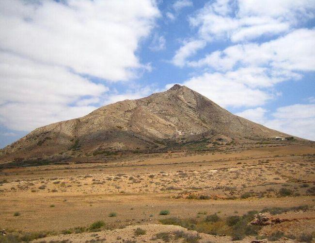 Tindaya (Fuerteventura, Spain) Fuerteventura Mountain Landscape Sky