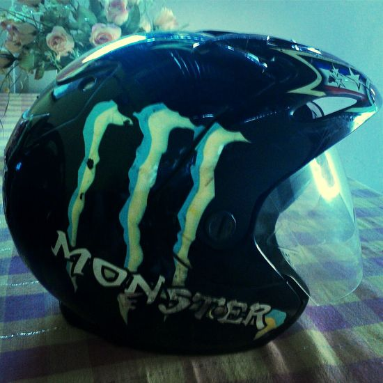 Motorcycle Helmet Monsterenergy