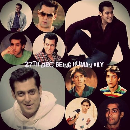 Wish u mny mny happie rtrns of d dy Beingsalmankhan Beinghuman 27dec Love selfi
