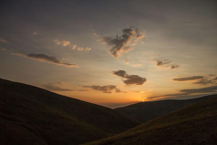 Dragobrat Dragobrat,Ukraine Beauty In Nature Landscape Mountain Nature No People Outdoors Scenery Scenics Sky Sunset Tranquil Scene