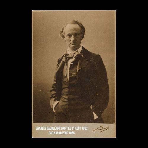 Charles Baudelaire est mort un 31 août, en 1867. Ici photographié par Nadar vers 1855. << Ô Mort, vieux capitaine, il est temps ! Levons l'ancre ! >> Nadar Baudelaire Poesie Poetry History Anniversaire Anniversary