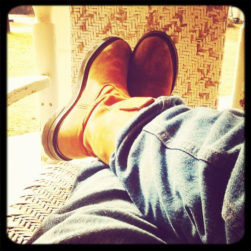 Got My Boots On!!!!