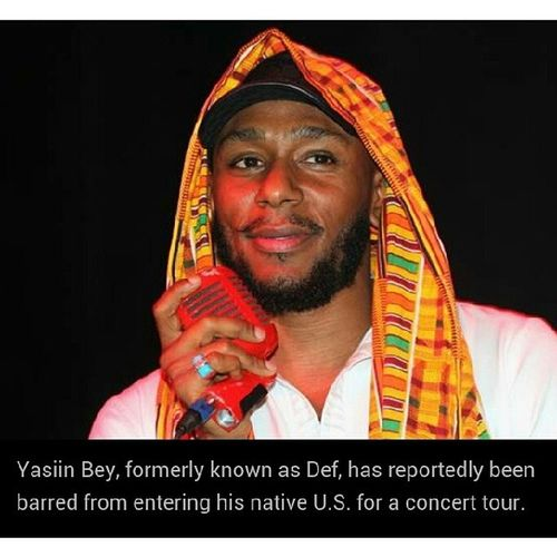 They better let me see my baby. Mosdef YasiinBey